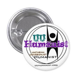 Unitarian Universalist UU Humanist Button