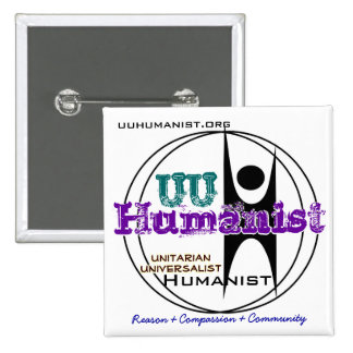 Unitarian Universalist UU Humanist Pins