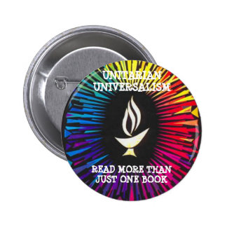 Unitarians Read More Than Just One Book 2 Inch Round Button