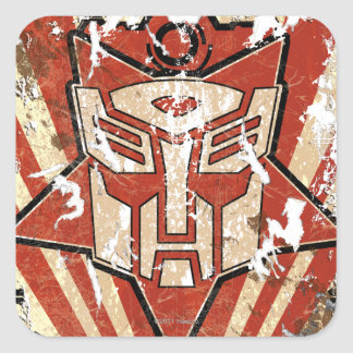 Unite - Autobot Symbol Square Sticker