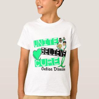 UNITE BELIEVE CURE Celiac Disease T-Shirt