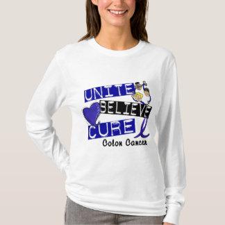 UNITE BELIEVE CURE Colon Cancer T-Shirt