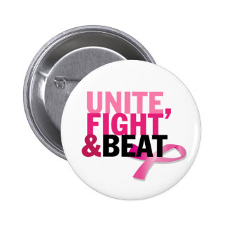 Unite, Fight & Beat 2 Inch Round Button