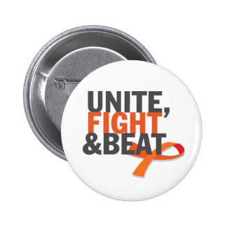 Unite, Fight & Beat Pin