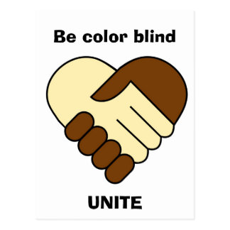 'Unite' postcard