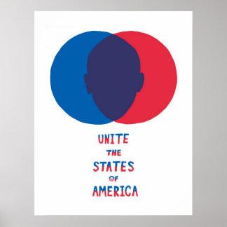 Unite the States of America Poster