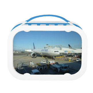 United Air Plane Lunch Box