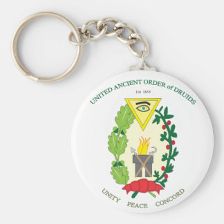 UNITED ANCIENT ORDER OF DRUIDS KEYCHAIN