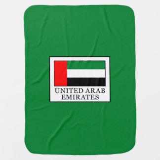 United Arab Emirates Baby Blanket