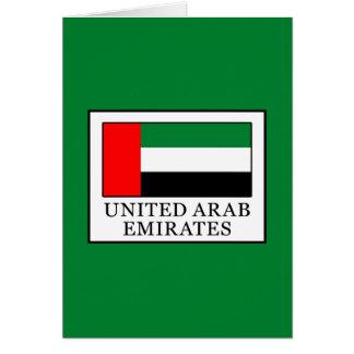 United Arab Emirates Card
