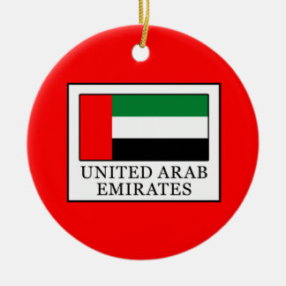 United Arab Emirates Ceramic Ornament
