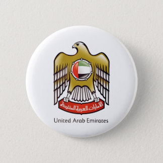 United Arab Emirates coat of arms 2 Inch Round Button