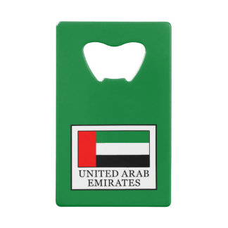 United Arab Emirates Credit Card Bottle Opener