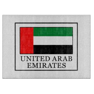 United Arab Emirates Cutting Board