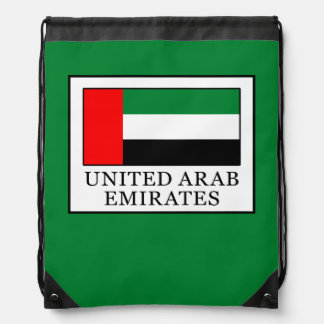 United Arab Emirates Drawstring Bag