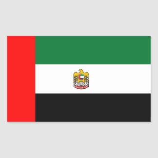 United Arab Emirates flag and emblem Sticker