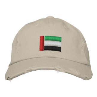 United Arab Emirates Flag Embroidered Hat
