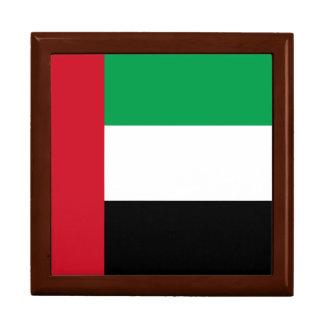 United Arab Emirates Flag Jewelry Boxes