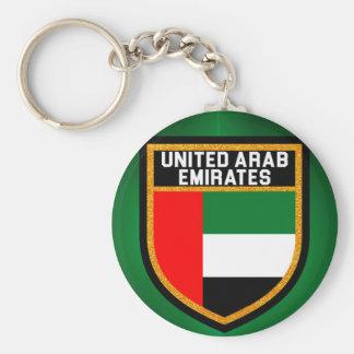 United Arab Emirates Flag Keychain