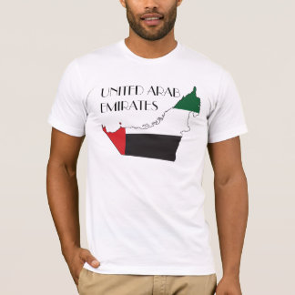 United Arab Emirates Flag-Map Shirt