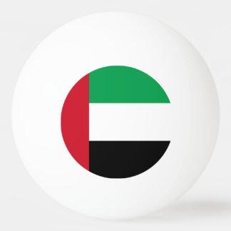 United Arab Emirates Flag Ping Pong Ball