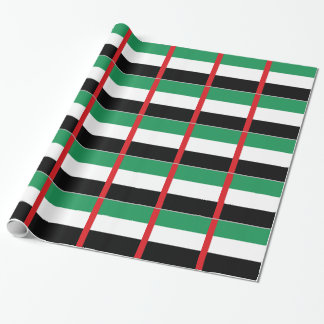 United Arab Emirates Flag Wrapping Paper