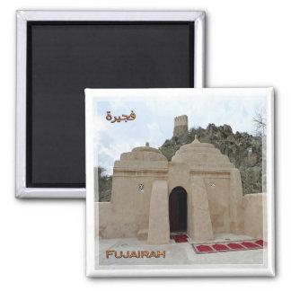 # United Arab Emirates Fujairah Al Badiyah mosque Magnet