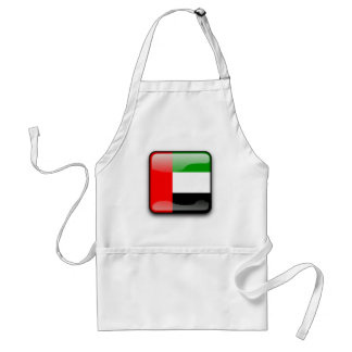 United Arab Emirates glossy flag Standard Apron