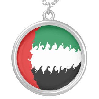 United Arab Emirates Gnarly Flag Pendants