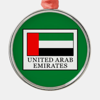 United Arab Emirates Metal Ornament