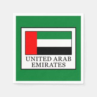 United Arab Emirates Napkin