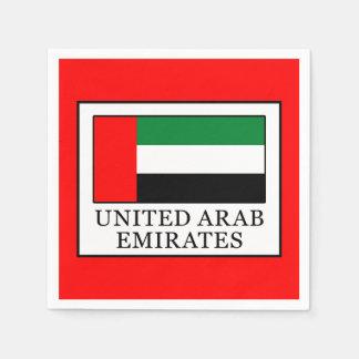 United Arab Emirates Paper Napkin