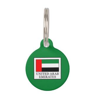United Arab Emirates Pet ID Tag