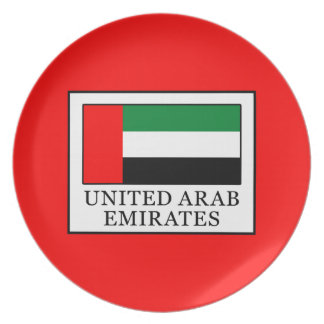 United Arab Emirates Plate
