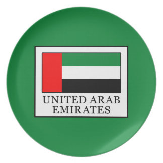United Arab Emirates Plate