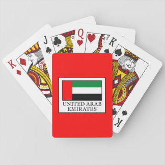 United Arab Emirates Playing Cards