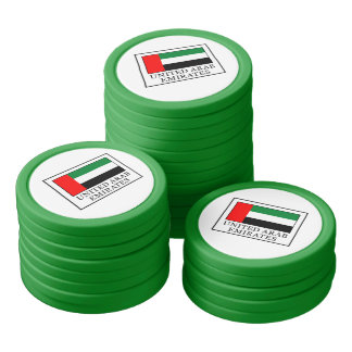 United Arab Emirates Poker Chips