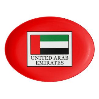 United Arab Emirates Porcelain Serving Platter