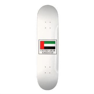 United Arab Emirates Skateboard Deck