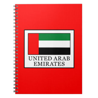 United Arab Emirates Spiral Notebook