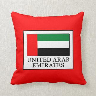 United Arab Emirates Throw Pillow