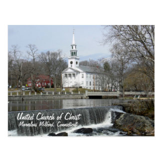 United Church of Christ Across the Pond Postcard