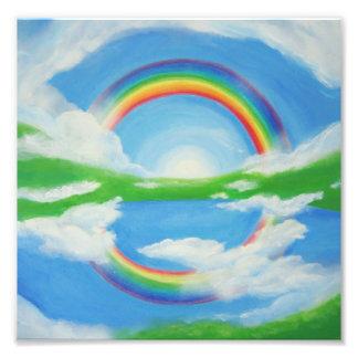 United colors photo print