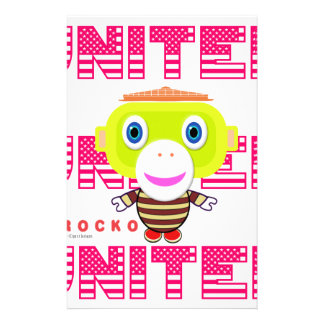 United-Cute Monkey-Morocko Stationery
