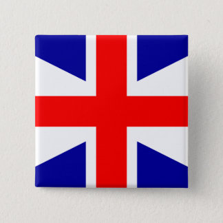 United Empire Loyalists flag 2 Inch Square Button