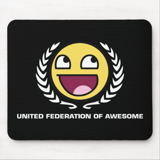 United Federation of Awesome Mouse Pad