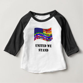 United Flag Babies T-Shirt