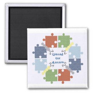 United for Autism/Puzzle Butterflies Magnet