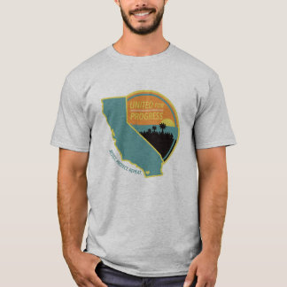 United for Progress - Mens Gray T-Shirt