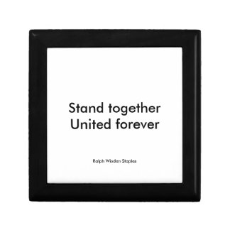 United forever jewelry box